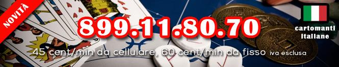 Cartomanzia Vera 899